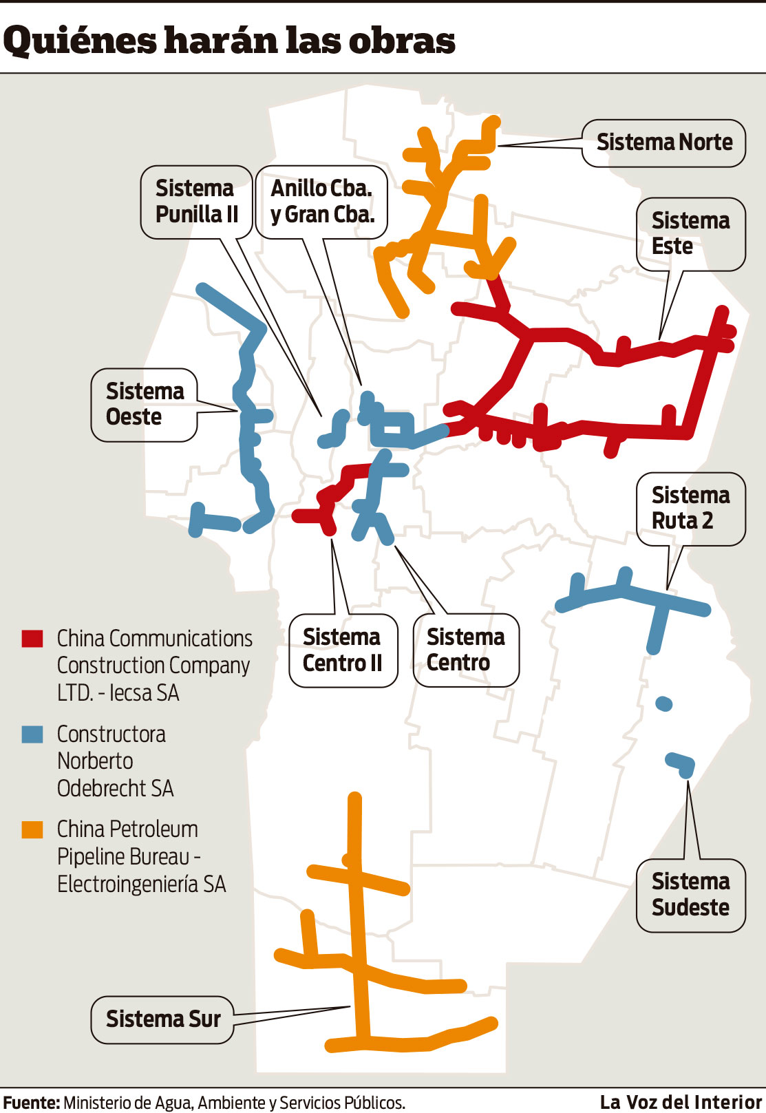 Resultado de imagen para Gasoductos de Córdoba