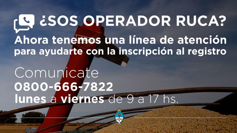 Agroindustria Un 0800 Para Consulta De Operadores Del