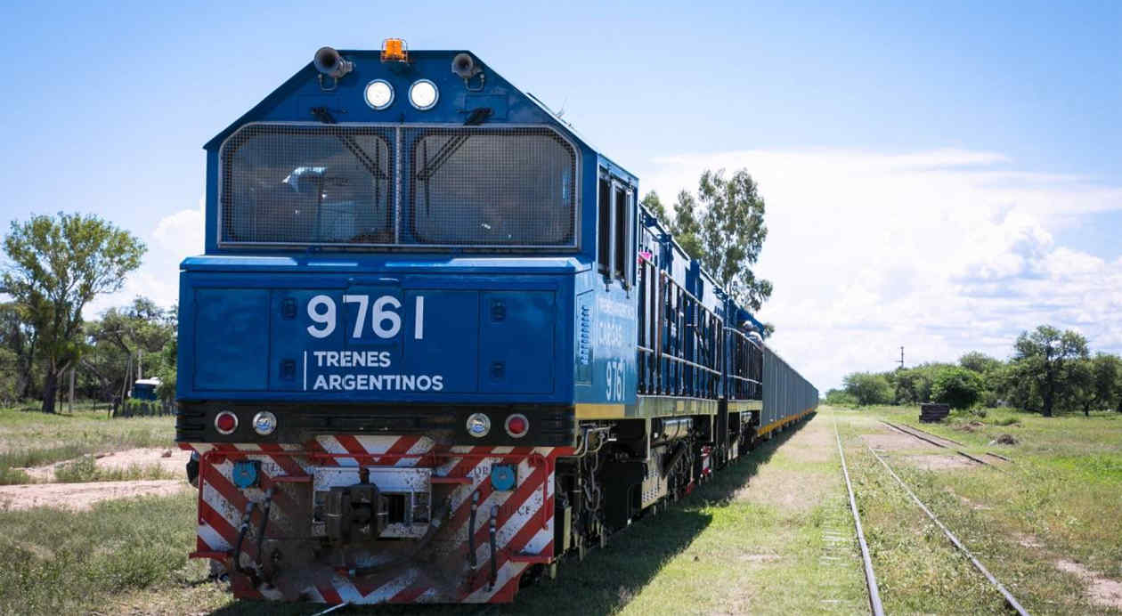 Fotos de trenes de carga 86
