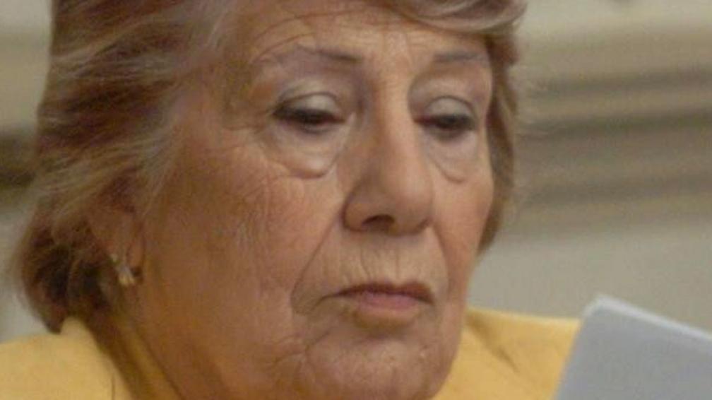 Elogios. Caffure valoró un proyecto de la gestión de Schiaretti por el cual se enseñaba un oficio a la mujer golpeada, que podía independizarse (Ramiro Pereyra/Archivo).