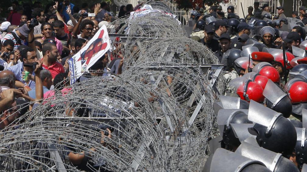 Otra vez en las calles. Los egipcios salieron a reclamar por lo que consideran un retroceso para el país (AP).