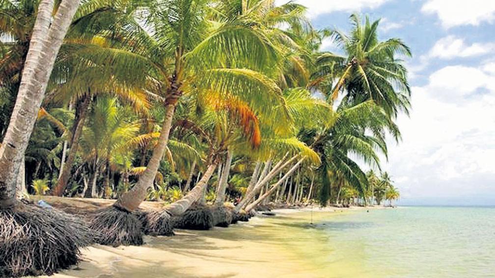Hermosas y todavía vírgenes playas en Boca del Drago. Es el punto más cercano a Costa Rica.