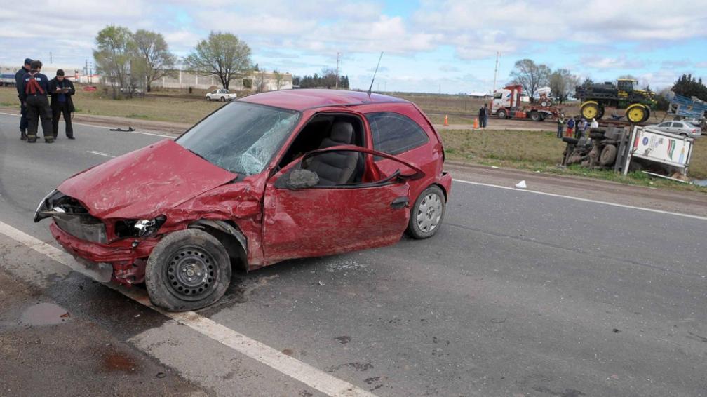 Fatal. El fallecido viajaba como acompañante en el camión (LaVoz).