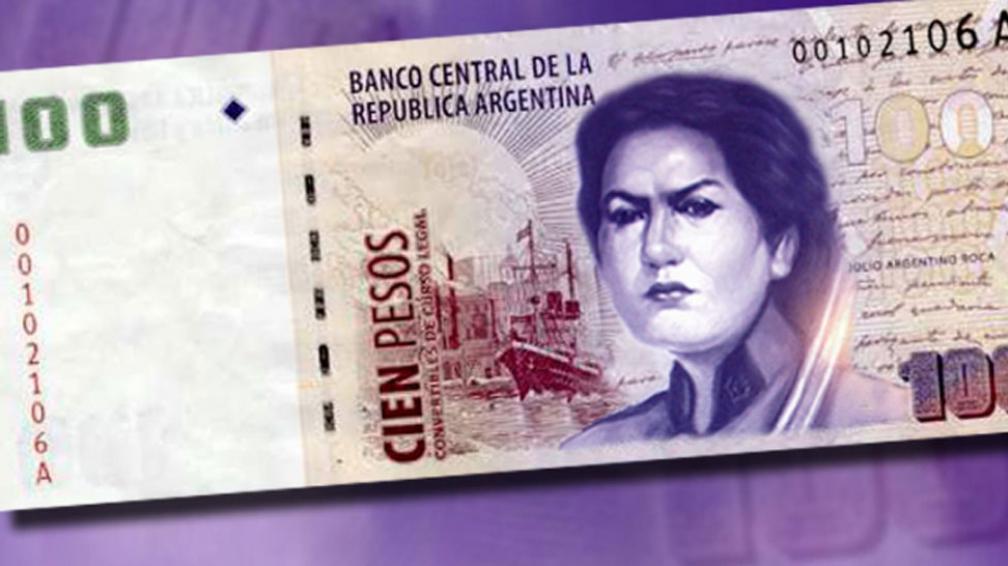 ¿CHAU ROCA?  Juana Azurduy es la candidata a figurar en el billete de 100 (Télam).
