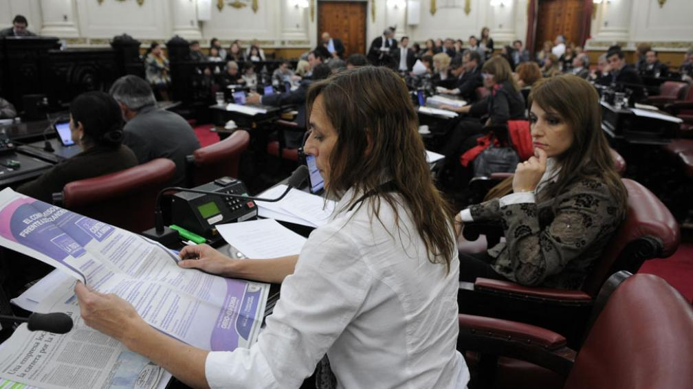 Legislatura. El miércoles de la semana pasada se sancionó la ley que prevé el cierre de prostíbulos (José Gabriel Hernández).