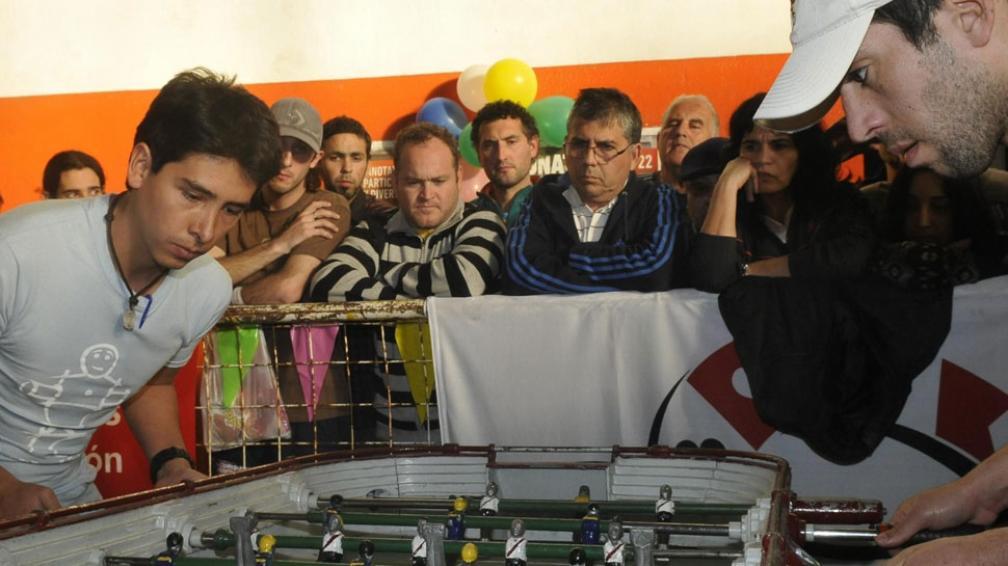 No vale hacer molinete. Una regla de oro en este campeonato (La Voz / Pedro Castillo).