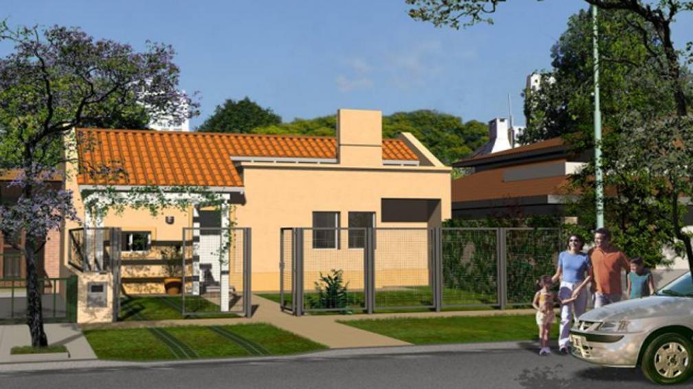 MODELO. Este es el de la Región centro (Foto: banco Hipotecario).
