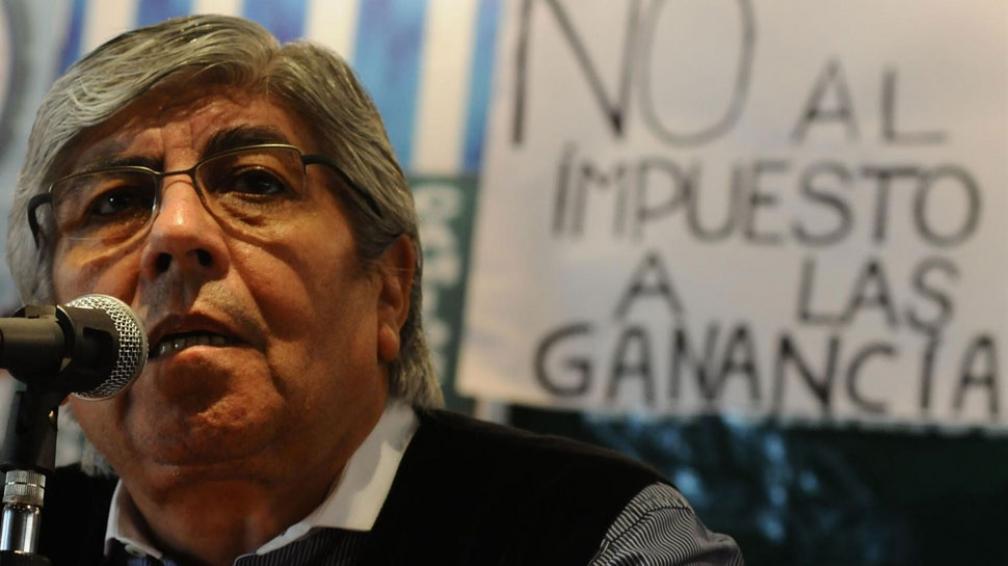 De frente. Hugo Moyano llamó a un paro general para el próximo miércoles (DyN).