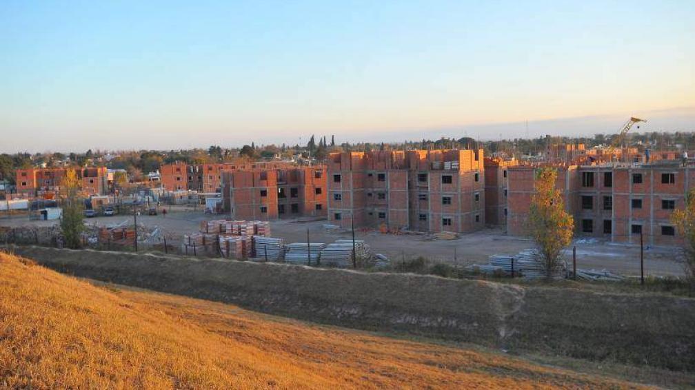 """CASI LISTAS. Las primeras casas comenzarán a entregarse """"pronto"""", dijeron desde la Provincia (LaVoz/Archivo)."""