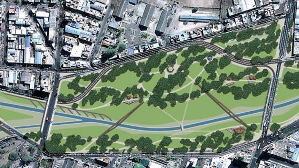 Parque Las Heras. Se quiere integrar el espacio verde al río, con un cambio en la traza de la Costanera.