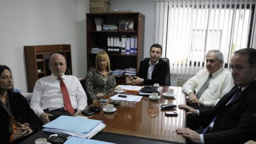 Reunión. La mitad más uno del bloque radical se reunió ayer para ratificar los cambios (José Gabriel Hernánez).