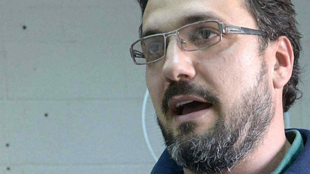 Durigutti. Uno de los miembros del grupo de investigación.