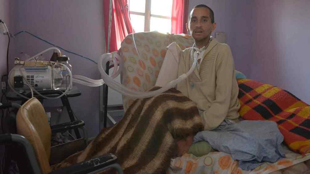DESAMPARADO. Marcos no cuenta con asistencia médica domiciliaria (La Voz/ Archivo).