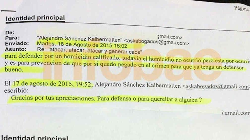 Difunden los emails que fernando farr habr a enviado for Mail zimbra ministerio del interior