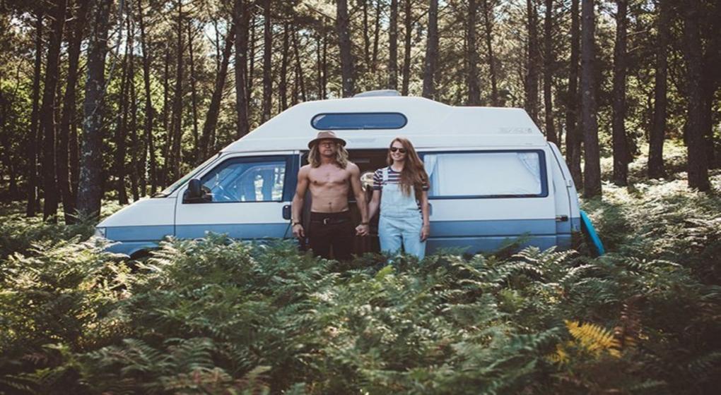 Conoc la pareja n mada que viaja en una furgoneta for Furgonetas en cordoba