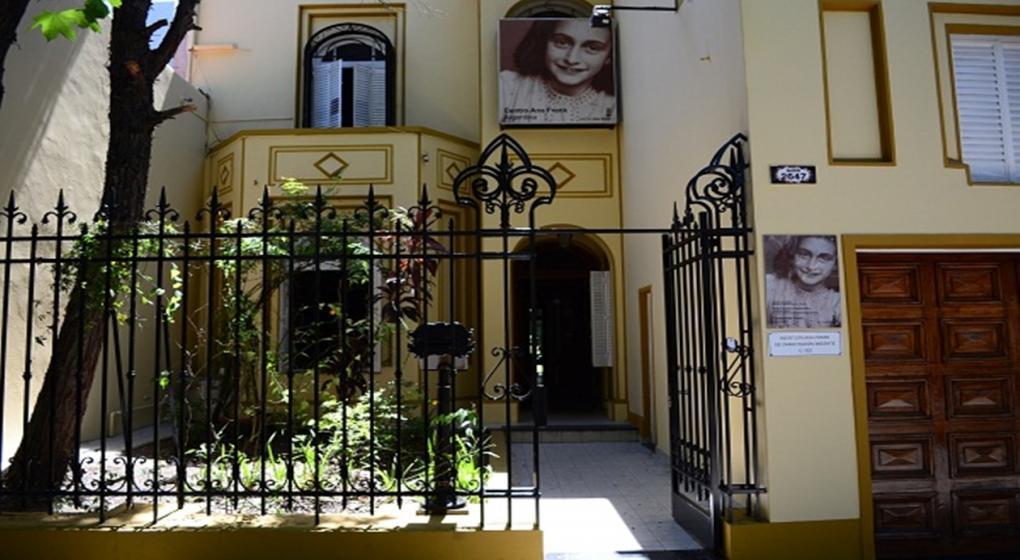 Una r plica de la casa de ana frank en argentina noticias al instante desde la voz - La casa de ana ...