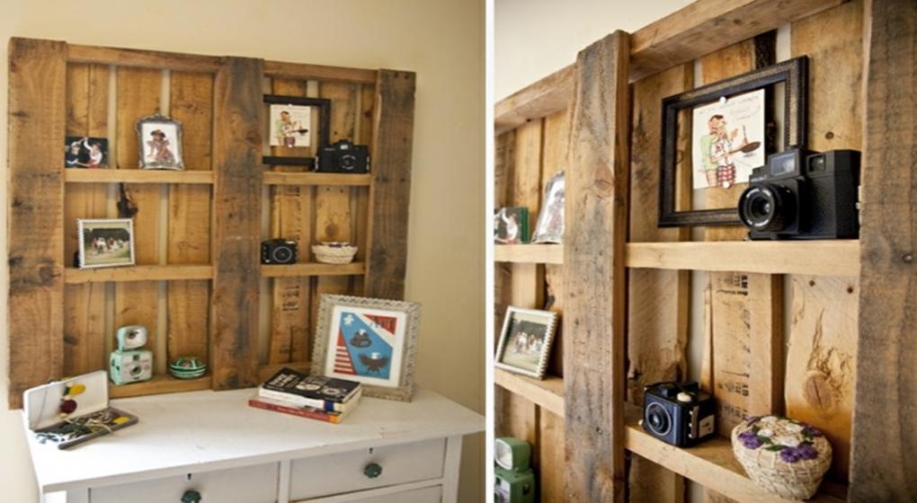 10 ideas para armar tus muebles con tarimas de madera for Muebles de oficina para armar