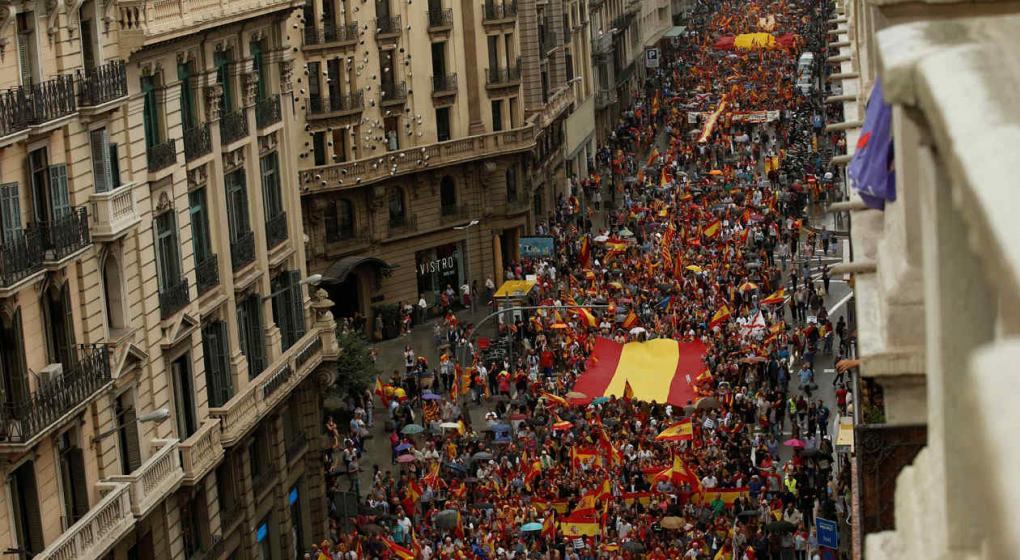 Mas de 300 heridos en Cataluña durante la votación del Referéndum