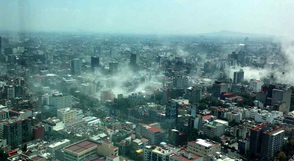 Evacúan el consulado argentino en México por los efectos del terremoto