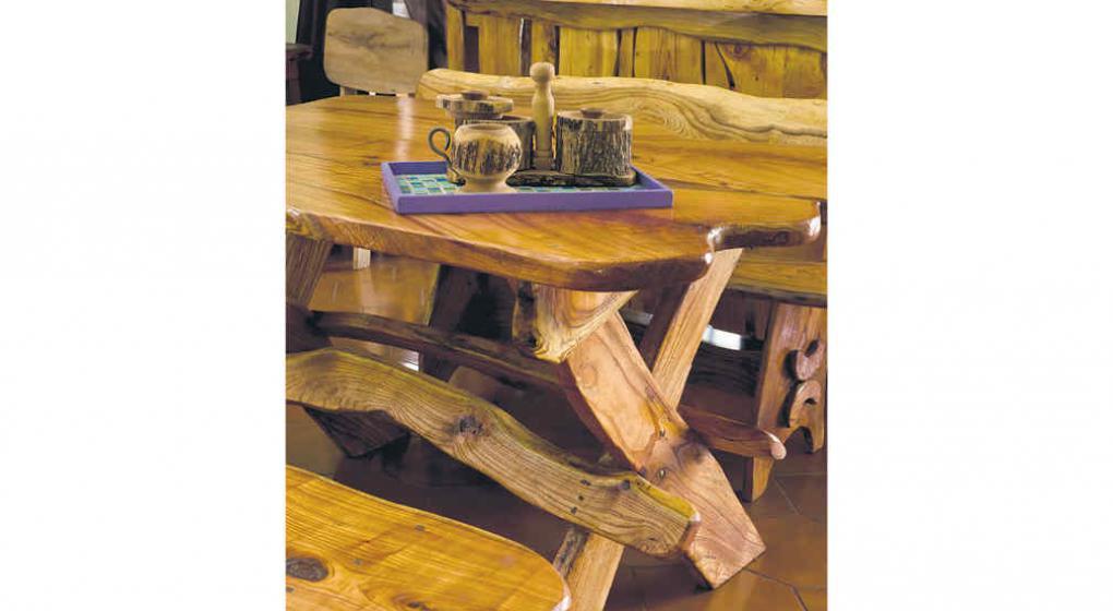 Muebles r sticos c modos y con aire de campo noticias - Muebles rusticos de campo ...