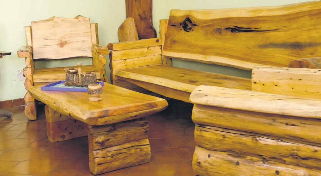 Muebles r sticos c modos y con aire de campo noticias - Muebles rusticos precios ...