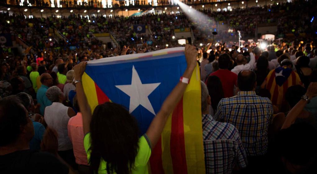 El independentismo catalán inicia su campaña para el referéndum