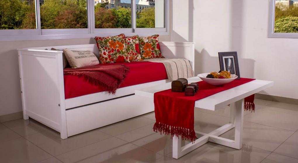Div n cama practicidad y funcionalidad de la mano del - Camas supletorias y divanes ...