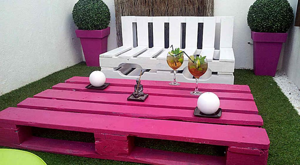 Ideas para aplicar con pallets o tarimas noticias al for Muebles con tarimas o pallets