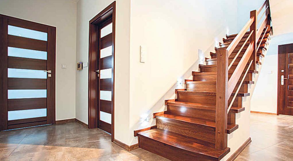 Diseo de escaleras interiores free barandales de acero - Escaleras interiores casas ...