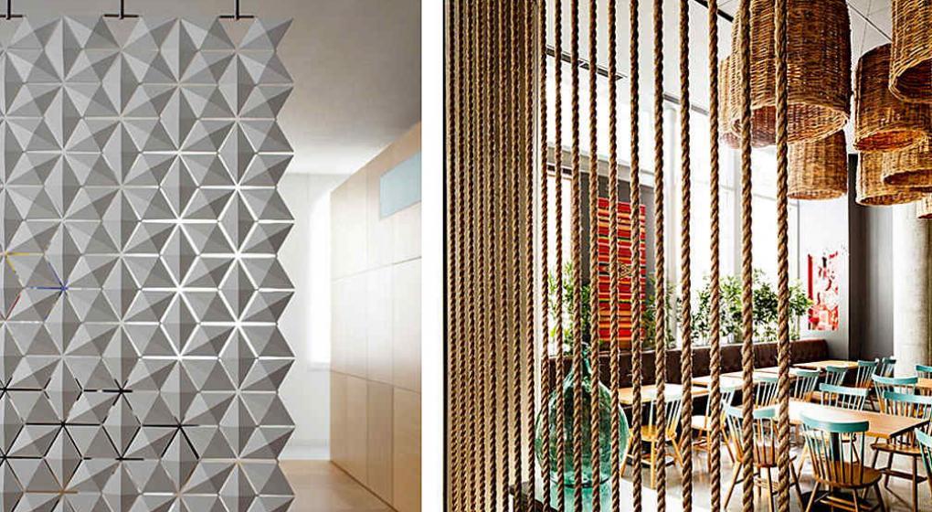 Paneles para separar ambientes como decamos with paneles - Cortinas para separar ambientes ...