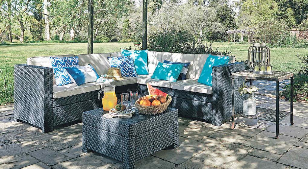 Muebles de jard n ideas para salir de la casa diario azul for Falabella muebles jardin
