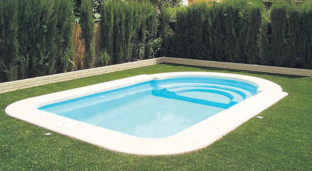 Piscinas de fibra precios piscina modelo hawai x with Piscina interior precio
