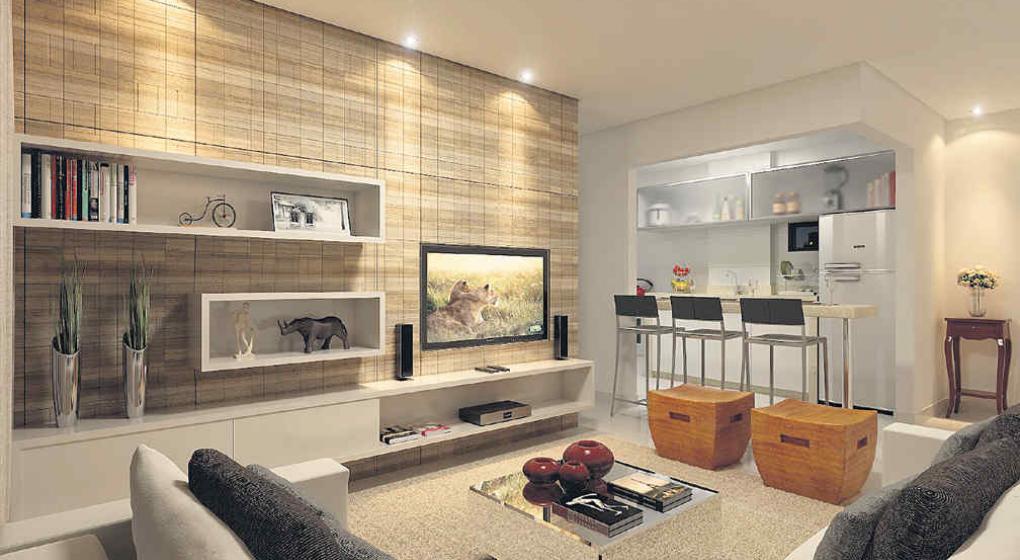 Salas de tv organizada y con estilo noticias al for Disenos de salas