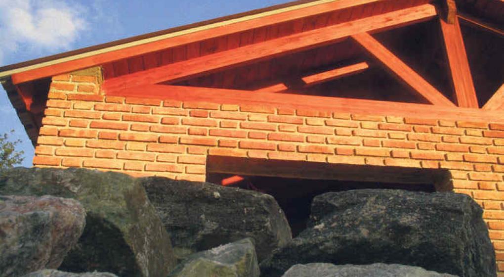 Vigas de madera para techos precios perfect best vigas paneles rusticos de imitacin a madera - Precio techo madera ...