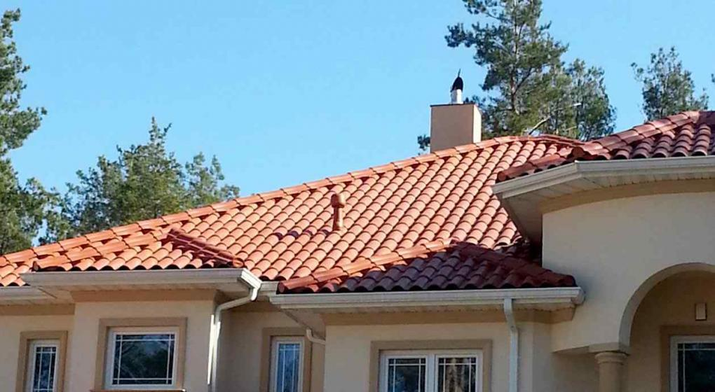 Necesit s una cubierta para el techo mir las distintas for Modelos de techos con tejas