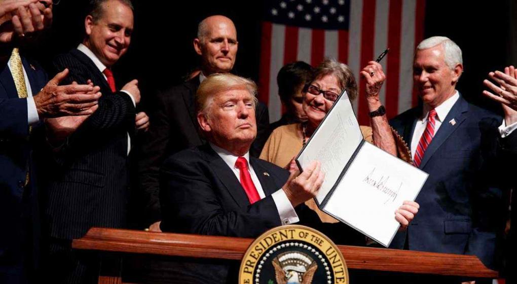 Trump pidió elecciones y liberar los presos en Cuba