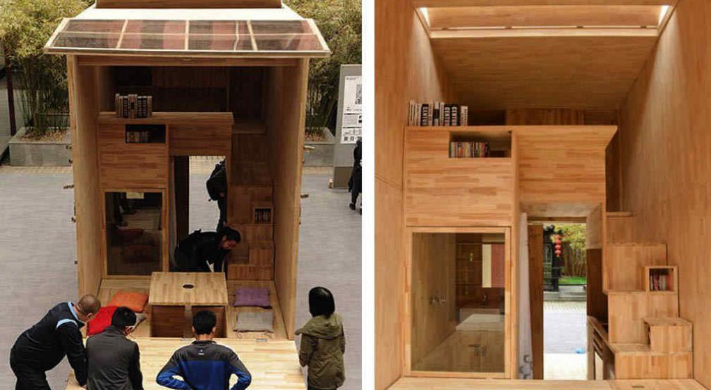 Una casa de 7 metros cuadrados noticias al instante for Diseno de casa de 56 metros cuadrados