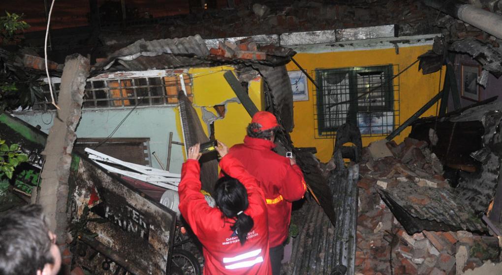 El profesor que se salv de milagro durante el derrumbe Casa de musica belgrano