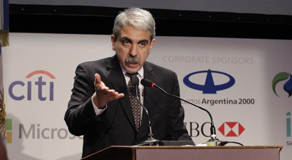 Aníbal Fernández denunció a Basavilbaso e hizo un papelón