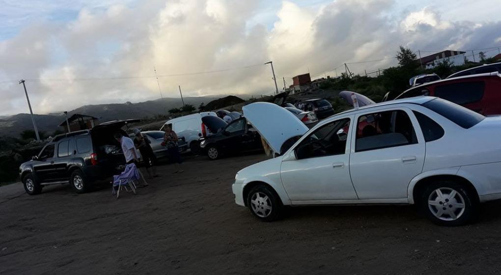 Cayó una centella en La Cumbrecita y afectó  a 17 autos