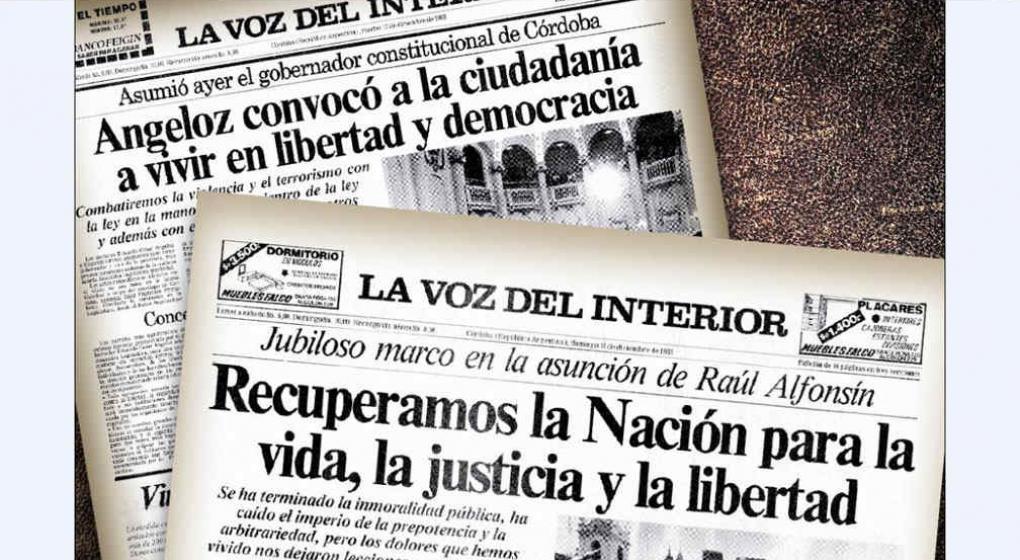 El martes reedici n del diario del retorno a la for La voz del interior trabajo