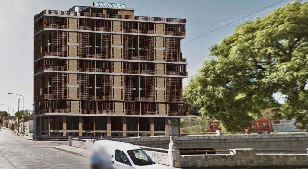 Imaginan un edificio sustentable en la ca ada con jardines for Edificios con jardines verticales