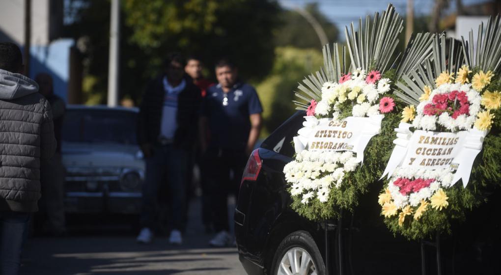 Despiden a Emanuel Balbo, el hincha de Belgrano arrojado desde la tribuna