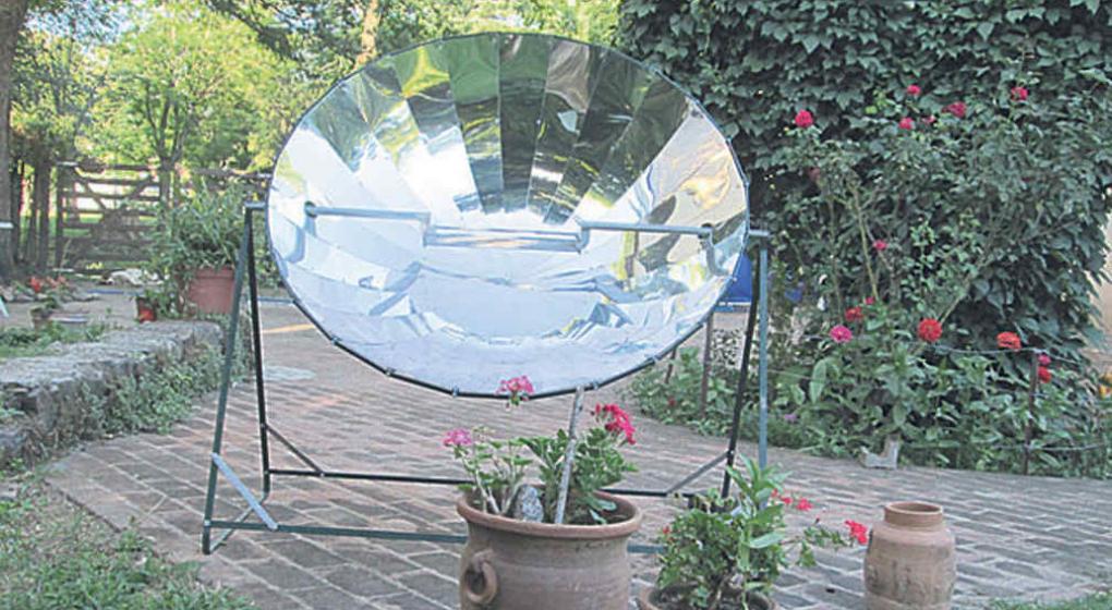 Con el sol en la mecha la voz for Planos para cocina solar parabolica
