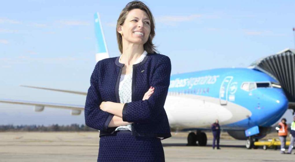 Costantini dijo que no renunció a Aerolíneas, la echaron