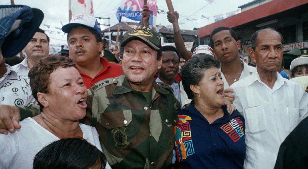El ex dictador Noriega fue despedido sólo por sus más cercanos