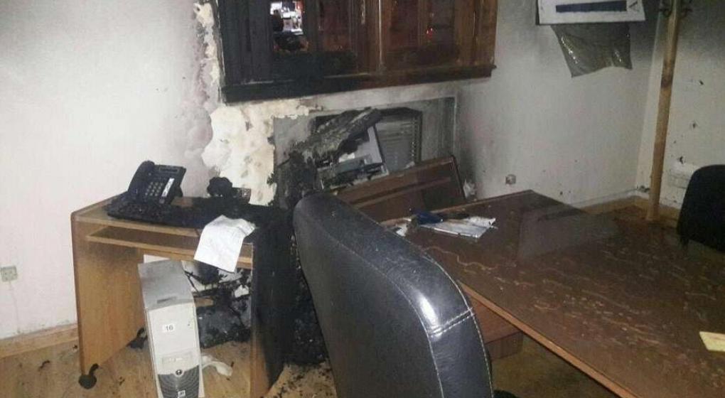 Sospechoso incendio en el Tribunal de Cuentas de Santa Cruz