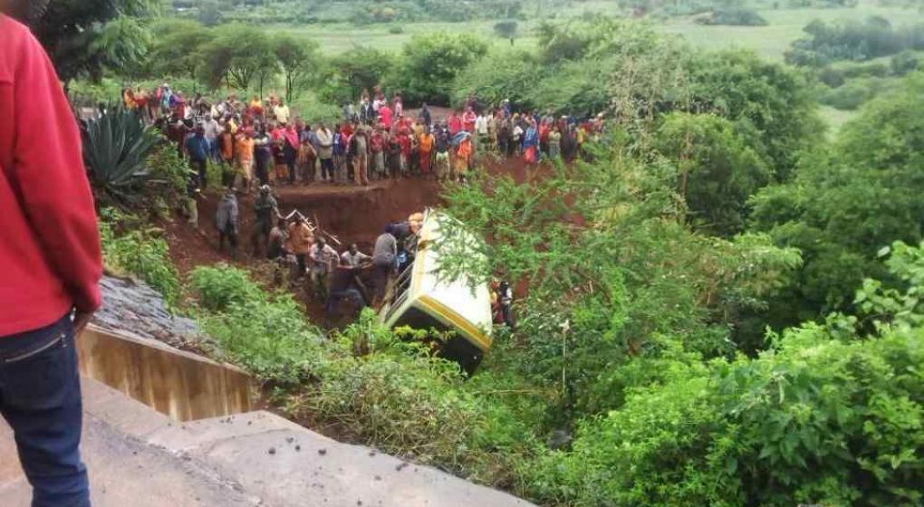 Tanzania: 35 muertos en accidente de bus