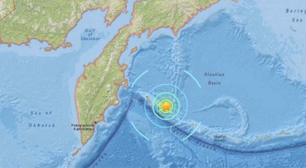 Terremoto de 7,4 grados se registra al este de Rusia