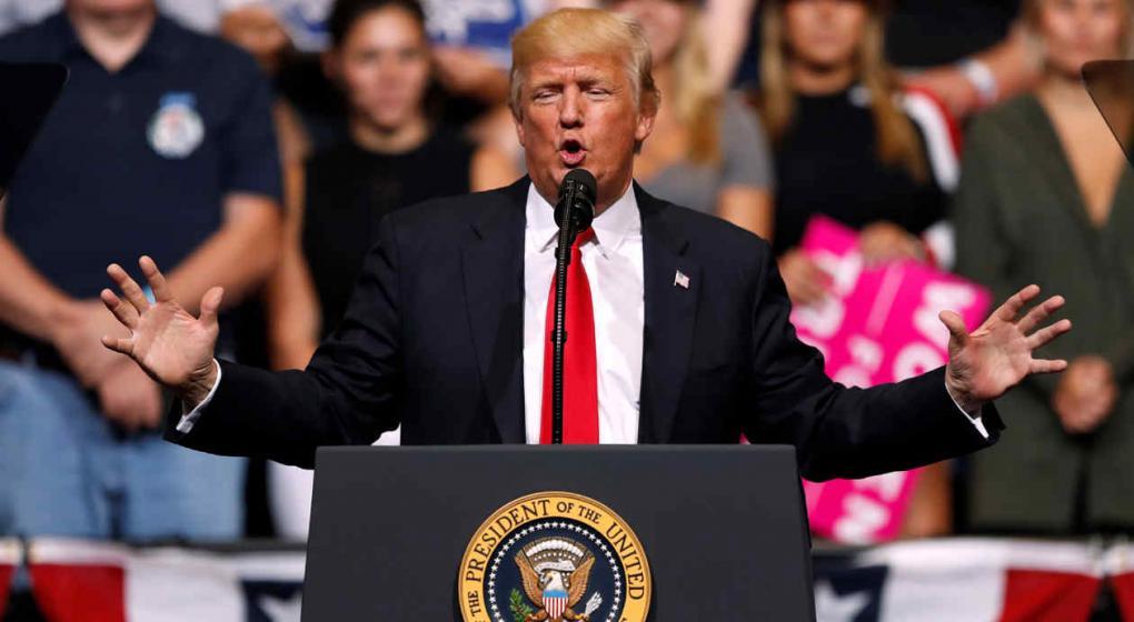 SRE refuta señalamiento de Trump sobre violencia en México